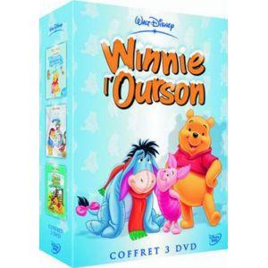 Coffret Winnie l'ourson 3 DVD : Le Grand voyage / Joyeux Noël / Le Monde magique - Vol.3