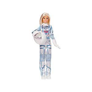 Mattel Poupée Barbie - Astronaute Blonde en Combinaison Spatiale avec Casque - GFX24