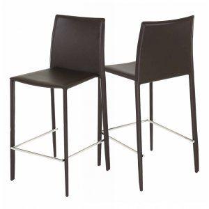 Id'Clik Boréale - 2 chaises de bar