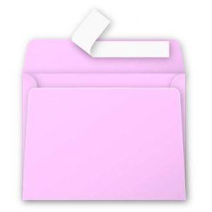 Clairefontaine 5531C - Enveloppe visite Pollen 90x140, 120 g/m², coloris rose dragée, en paquet cellophané de 20