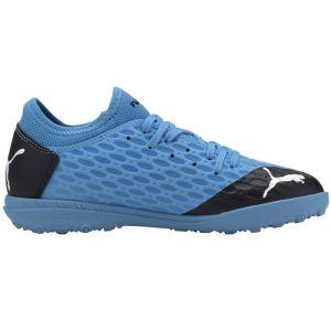 Puma Chaussure de football FUTURE 5.4 TT Youth pour Enfant, Bleu/Rose/Noir, Taille 37