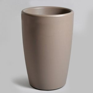 Mcollection Pot ESSENCE egg Taupe Ø.45 x H.53 cm
