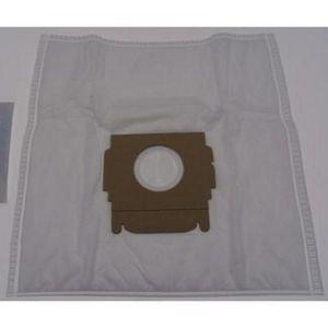 5 sacs microfibres pour aspirateur MOULINEX