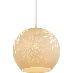 Globo Lighting Suspension en nickel mat 122x26x26 cm Blanc mat - Suspension nickel mat - Porcelaine blanc mat - A:260 - H:1220 - Ampoule non incluse 1xE27 40W 230V
