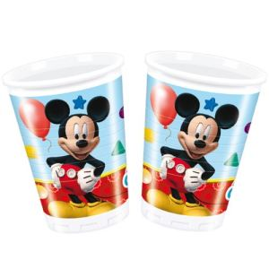 8 gobelets Mickey Mouse