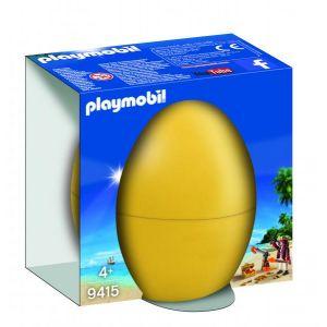 Playmobil Pirate avec canon et trésor Easter - 9415