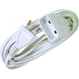 Voltman Rallonge électrique - 6A - 3m - Blanc