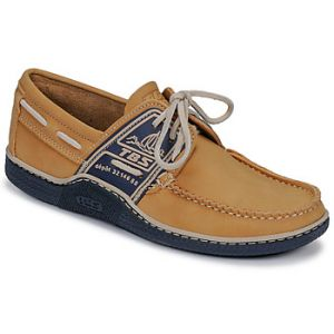 Tbs Chaussures bateau GLOBEK jaune - Taille 41,42,43,44,45,46