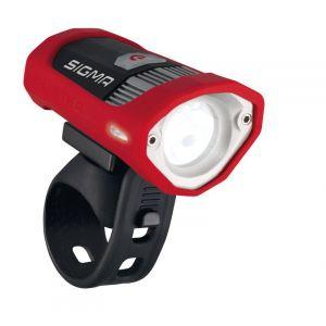Image de Sigma Sport Buster 200 HL - Lampe pour casque - rouge/noir   unisex acier inoxydable