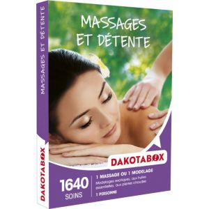 Dakota Box Massages et détente - Coffret cadeau