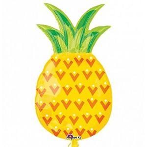 Ballon métallique Ananas