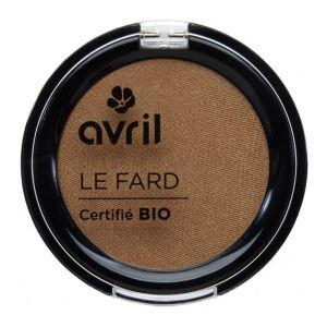 Avril Fard à paupières Noisette irisé Certifié Bio