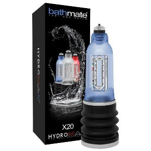 Bathmate Développeur Hydromax Pompe X 20 Bleu