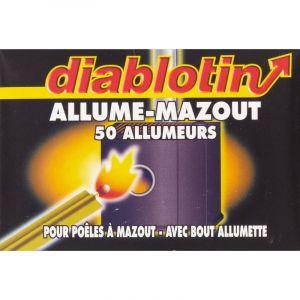 Diablotin Allume mazout avec bout allumette - Vendu par 50