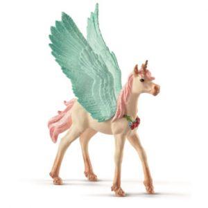 Schleich Figurine 70575 Licorne-pégase bijou, poulain