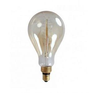 Ampoule décorative rétro Edison Géante Eve (D.13cm) filament Zigzag incandescent 40W (E27)