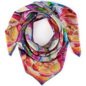 Allée du foulard Carré de soie Premium ArtiFlor