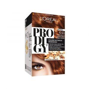 L'Oréal Prodigy Crème Colorante Castaño Chiaro Mogano Ramato Caramel 6.45