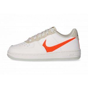Nike Force 1 Lv8 Blanche Et Orange Enfant 33 Baskets