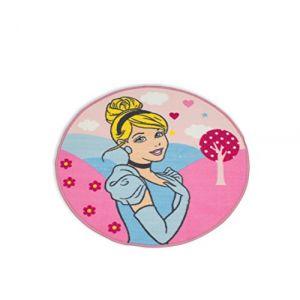 Character World Tapis Enchanting Princesse Cendrillon Disney rond (80 cm)