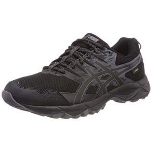 Asics Gel-Sonoma 3 G-TX,Chaussures de Trail Femme, Noir (Black/Onyx/Carbon 9099), 40.5 EU