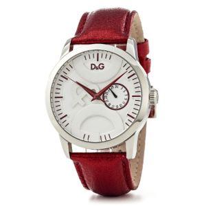 Dolce & Gabbana Sundance - Montre pour femme avec bracelet en cuir