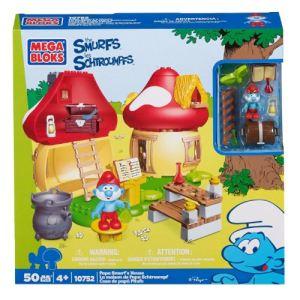 Mega Bloks 10752U - La maison de Papa Schtroumpfs
