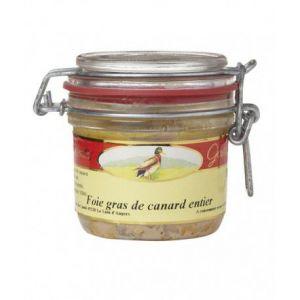 Les treilles gourmandes Foie gras de canard entier à la fleur de sel de Guérande, Verrine 180 gr