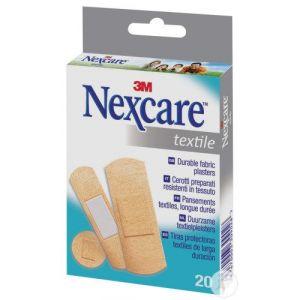 Boîte 20 pansements textiles Nexcare