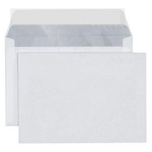 5* office 500 enveloppes 11,4 x 16,2 cm avec fenêtre (80 g)