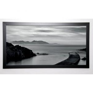 BRAUN STUDIO Image encadrée Ponton 4 57x107 cm Gris - Image Encadrée - Laquart - Gris