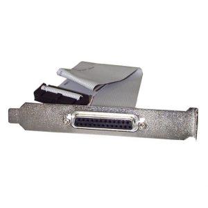 StarTech.com PLATE25F16 - Nappe port parallèle DB25 femelle vers connecteur carte mère IDC 25 broches de 40 cm