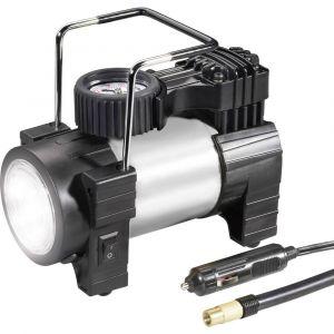 Compresseur 10 bar 03:12:012 avec lampe de travail, manomètre analogique, protection contre les surcharges, sacoc ou coffret de rangement