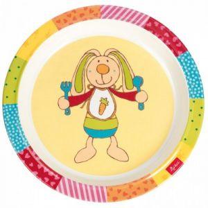 Sigikid 24441 - Assiette Rainbow Rabbit