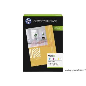 HP Pack de 3 cartouche 1CC20AE n°903 - 3 couleurs