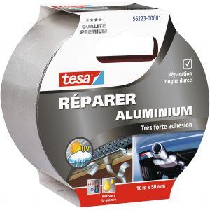 Tesa Ruban aluminium - 10 m x 50 mm - Ruban spécial