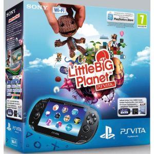 Sony PS Vita Wi-Fi + LittleBigPlanet + Carte mémoire 4 Go