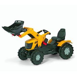 Rolly Toys Tracteur à pédales JCB 8250 avec pelle avant