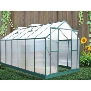Foresta SR 4330 - Serre de jardin en aluminium et polycarbonate 12,8 m²