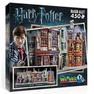 Wrebbit Harry Potter Chemin de traverse - Puzzle 3D 450 pièces