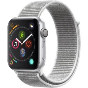 Apple Watch Series 4 - 44mm - Alu Argent - Boucle Sport Coquillage