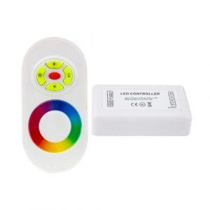 Ledkia France Contrôleur Tactile LED RGB 12/24V, Dimmable avec Télécommande RF LEDKIA
