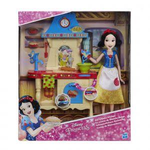 Hasbro Figurine Disney Princess Blanche Neige et sa cuisine