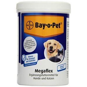 Bayer Bay-o-Pet Megaflex / 33275 - Complément contre douleurs articulaires et cartilagineuses - 600 g