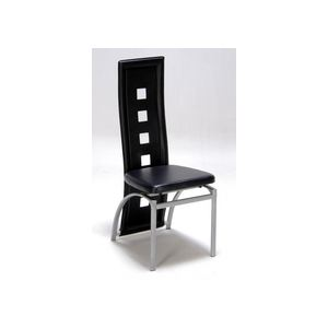 Flak - Chaise design imitation cuir