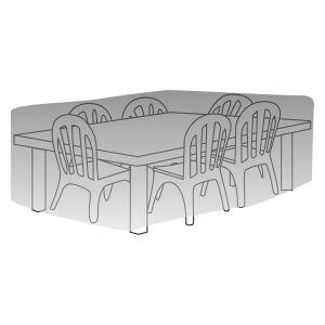 L'imbattable Direct-Delta Housse de protection pour table rectangle + chaises