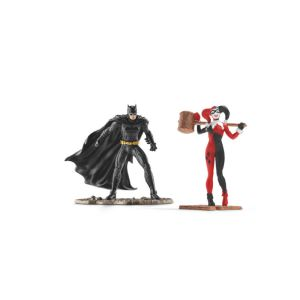 Schleich Figurine Justice League Scenery Pack Batman vs Harley