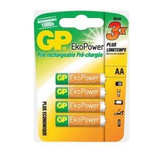 GP 4 piles AA Ecopower 1050 mAh