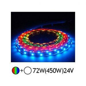 Vision-El Bandeau LED 12 volt RGB+blanc 72 watt - Indice de Protection - 20