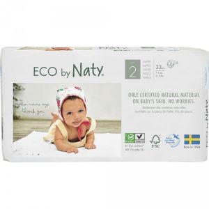 Eco by Naty Couches écologiques jetables taille 2 3-6kg